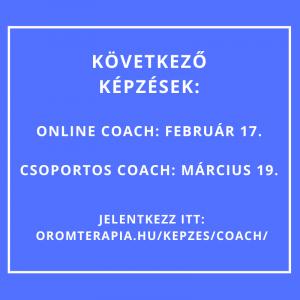 Coach képzés február, március